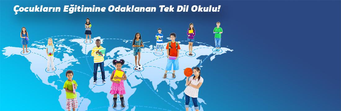 Çocukların Eğitimine Odaklanan Tek Dil Okulu